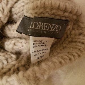 lorenzo Accessories - LORENZO SET of 3!!! Alpaca beanies and BR Beret